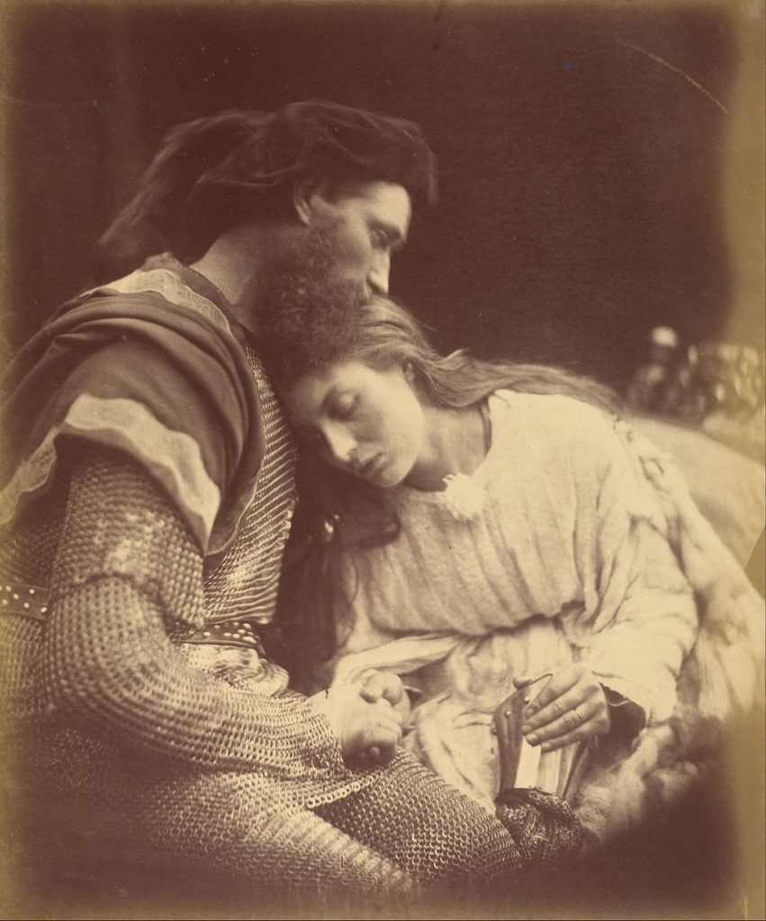Parting of Sir Lancelot and Queen Guinevere