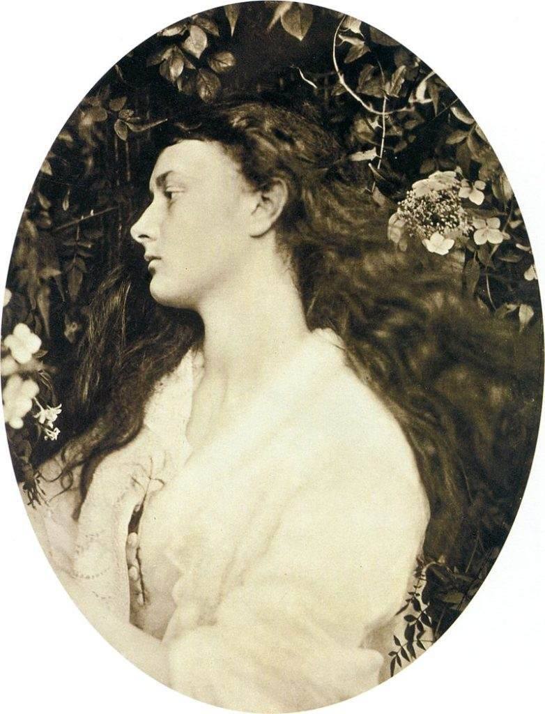 Alice Liddell as Alethea - История фотографии, Викторианская фотография