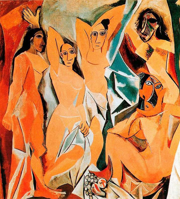 Пабло Пикассо - Авиньонские девицы - фотография и живопись - блог о фотографии