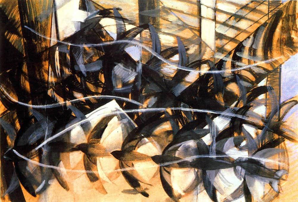 Влияние фотографии на живопись и современное искусство - Балло Джакомо