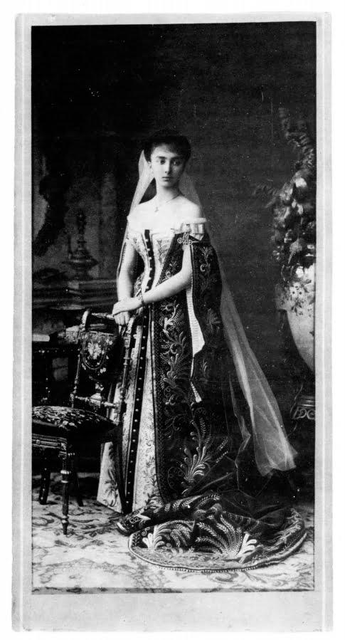 Портрет княгини Оболенской, фотограф Бергамаско - фотография в Российской империи - фотография в царской России