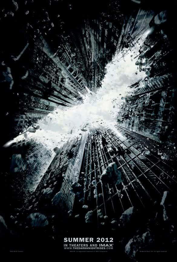 """Постер """"Бэтмен"""" - негативное пространство в графическом дизайне и фотографии"""