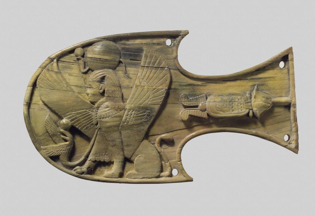 Шоры для лошади - искусство древнего мира