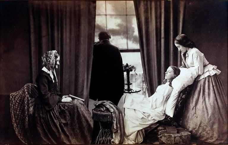 Викторианская фотография - угасание - Робинсон - прерафаэлиты
