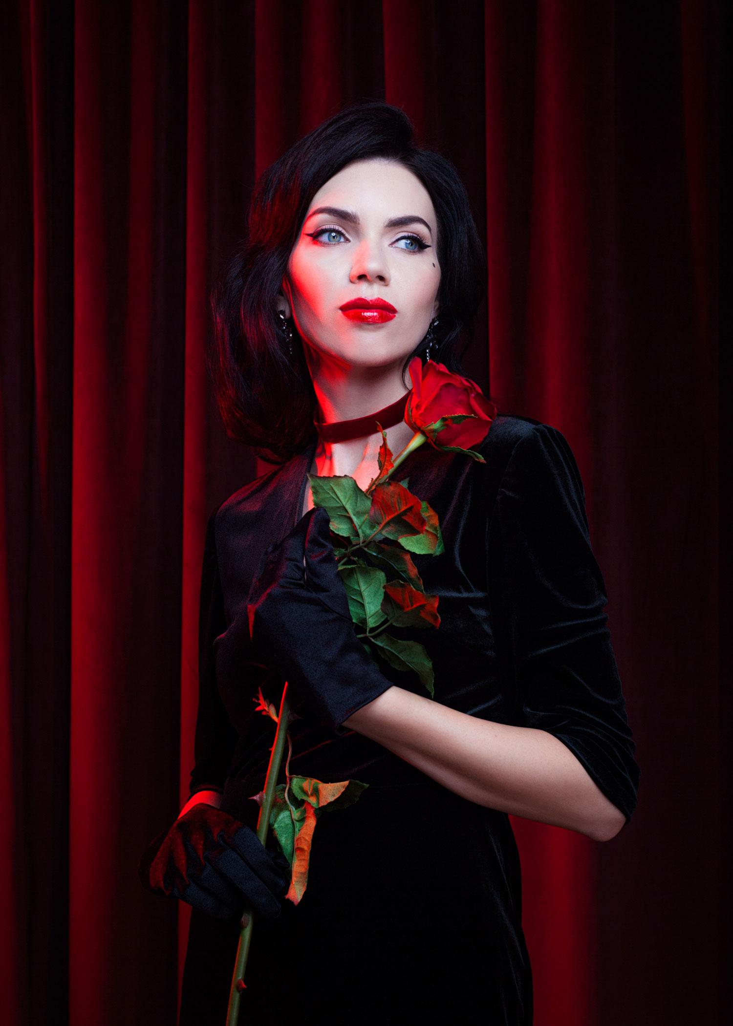 Фэшн фотограф -  Резеда Мурзаханова - визажист Олеся Чон